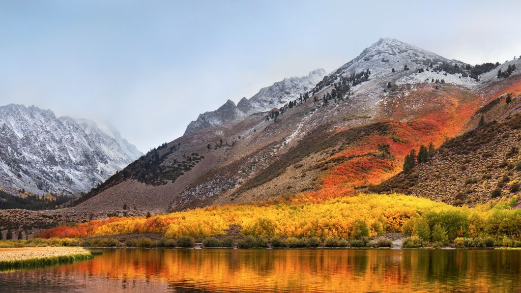 Macos High Sierra, Stock, Пейзаж, HD, 2K, 4K, 5K